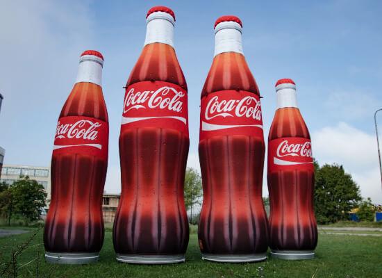 BOTTLE coca cola 4pcs