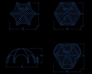 spider axion dimesions